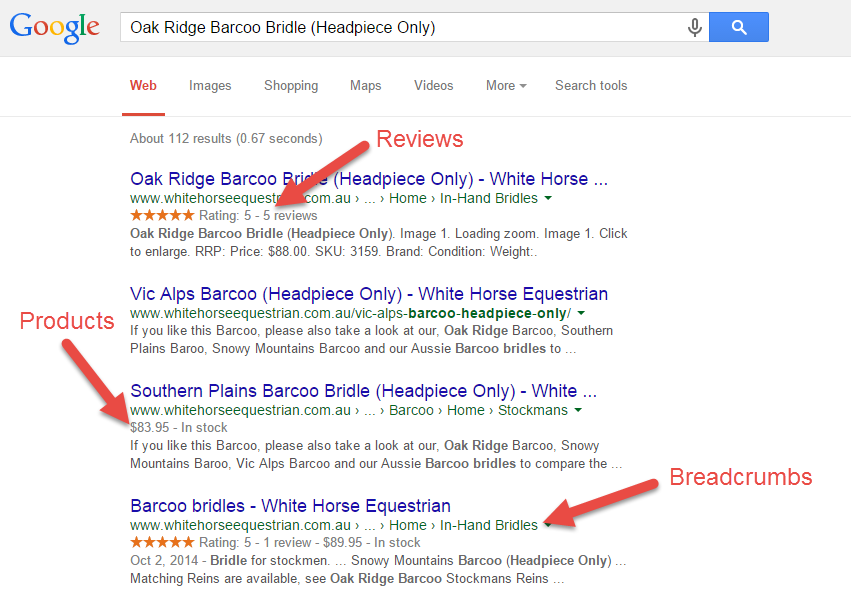 BigCommerce Rich Snippets