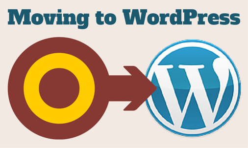 Moving To WordPress